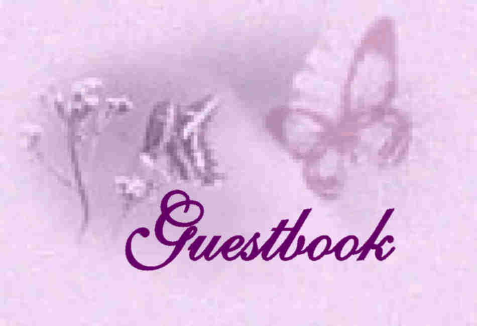 Please sign my guestbook.  Thank you.